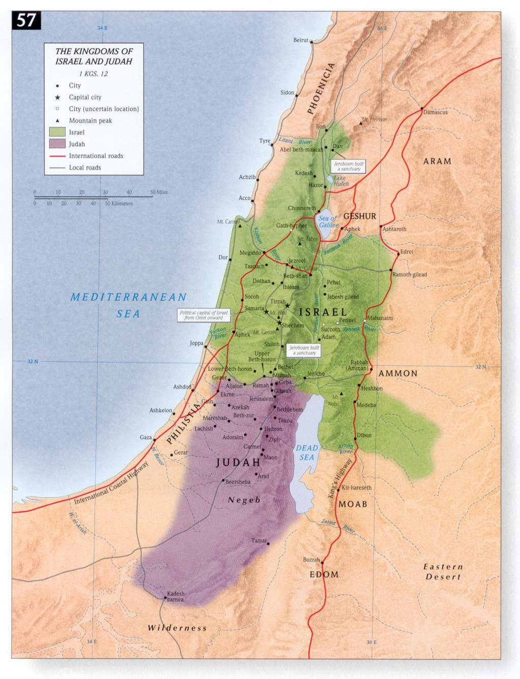 The Kingdoms of Israel and Judah 1